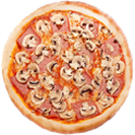 Mushrom pizza $15.00