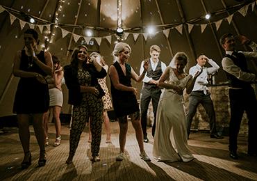 bröllop dansgolv