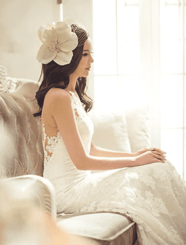 bröllop brudklänning